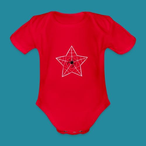 étoile d'araignée - Body Bébé bio manches courtes