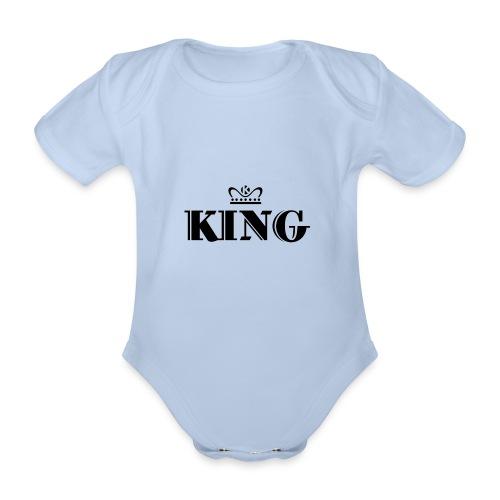 King - Baby Bio-Kurzarm-Body