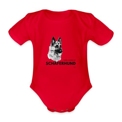 Home is where my Schäferhund is ! - Baby Bio-Kurzarm-Body