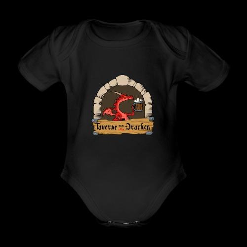 Taverne zum roten Drachen [Official] - Baby Bio-Kurzarm-Body
