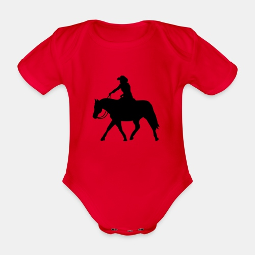 Ranch Riding extendet Trot - Baby Bio-Kurzarm-Body
