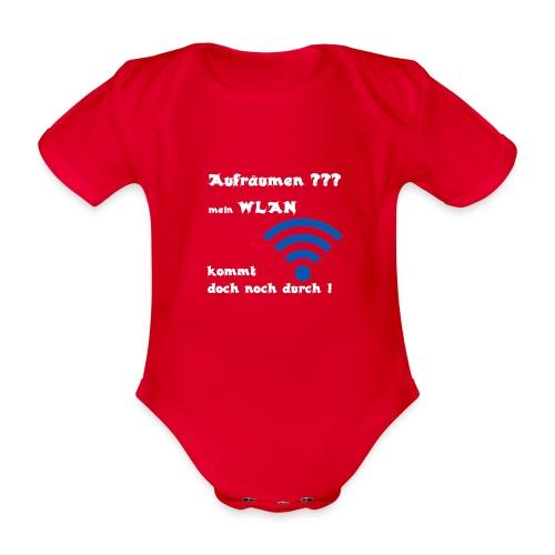 Wlan WE - Baby Bio-Kurzarm-Body