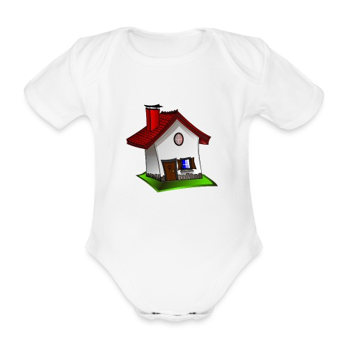 Haus - Baby Bio-Kurzarm-Body