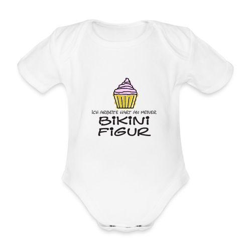 Bikinifigur - Baby Bio-Kurzarm-Body