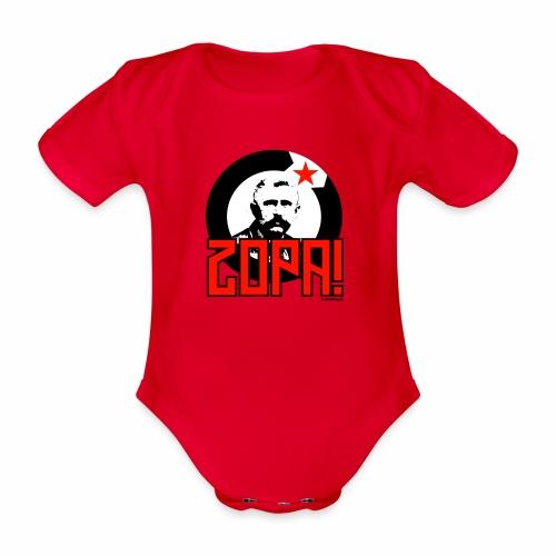 Zopa! - Baby bio-rompertje met korte mouwen