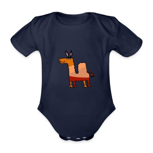 Tod le dromadaire - Body Bébé bio manches courtes