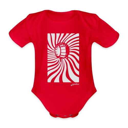 wirbel - Baby Bio-Kurzarm-Body