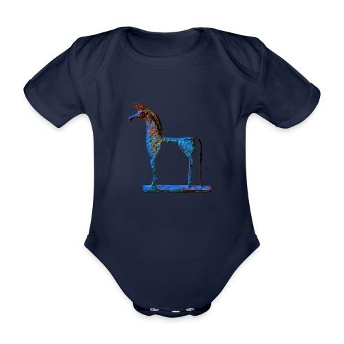 Le cheval grec - Body Bébé bio manches courtes