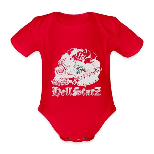 HELLSTARZ Skull Logo - Body Bébé bio manches courtes