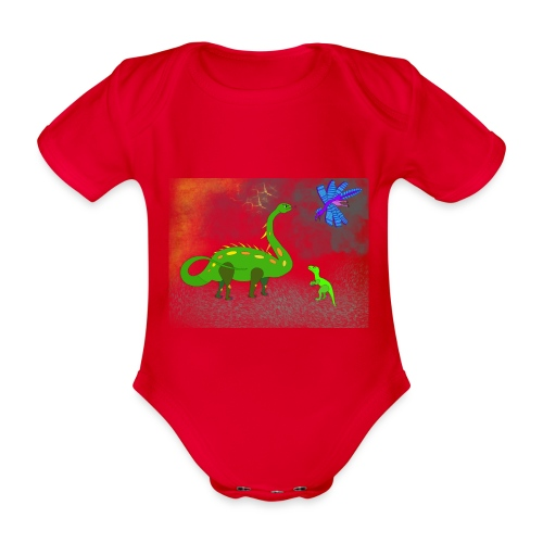 Theo & Mama - Baby Bio-Kurzarm-Body