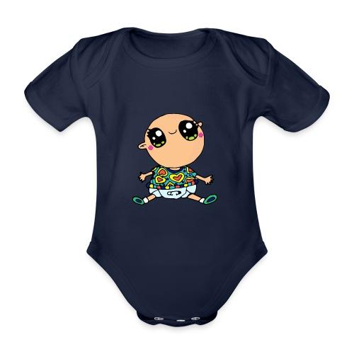 Louis le bébé - Body Bébé bio manches courtes