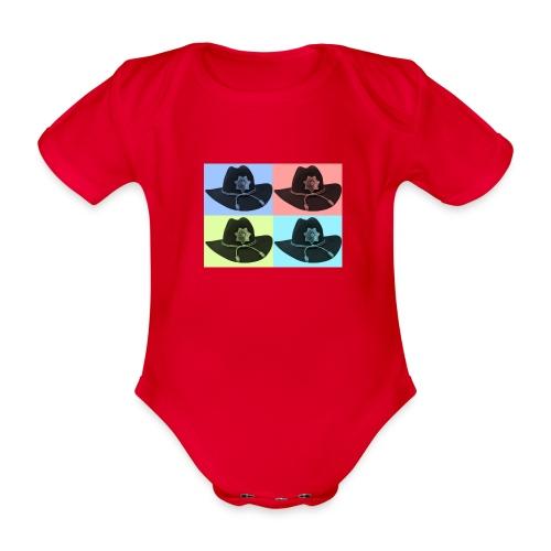 cuatro rick - Body orgánico de manga corta para bebé