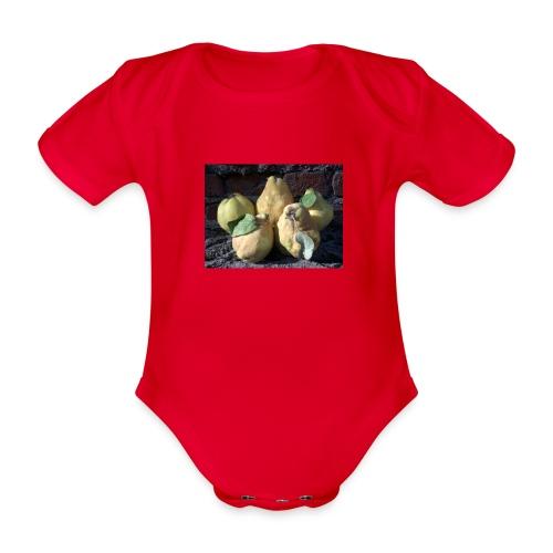 Quitten - Baby Bio-Kurzarm-Body