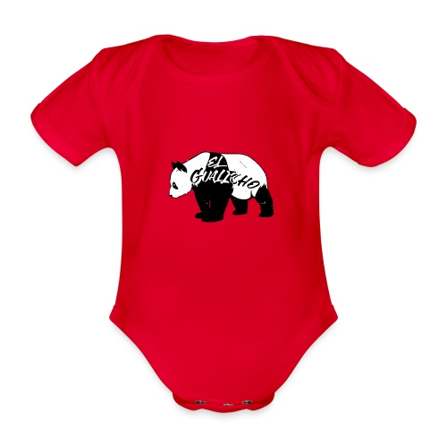 Panda ElGualicho - Body Bébé bio manches courtes