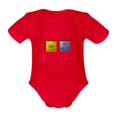 GEEK IV - Body Bébé bio manches courtes
