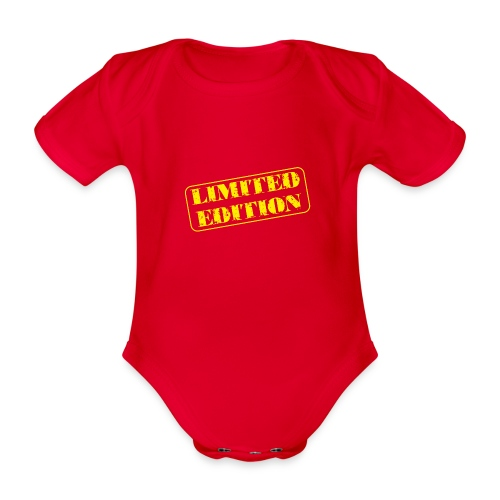 Limited Edition - Baby Bio-Kurzarm-Body