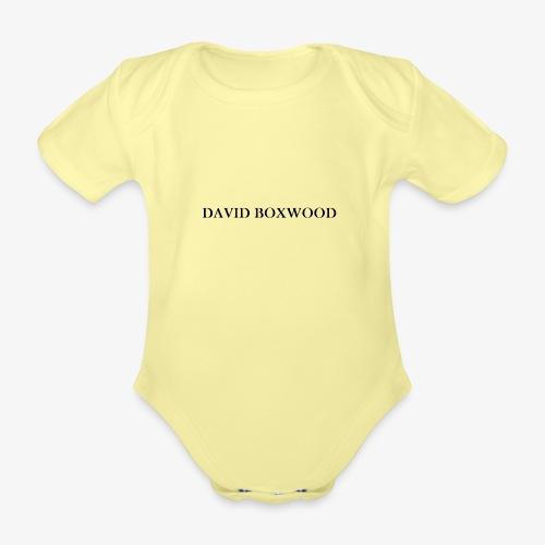DAVID BOXWOOD - Body ecologico per neonato a manica corta