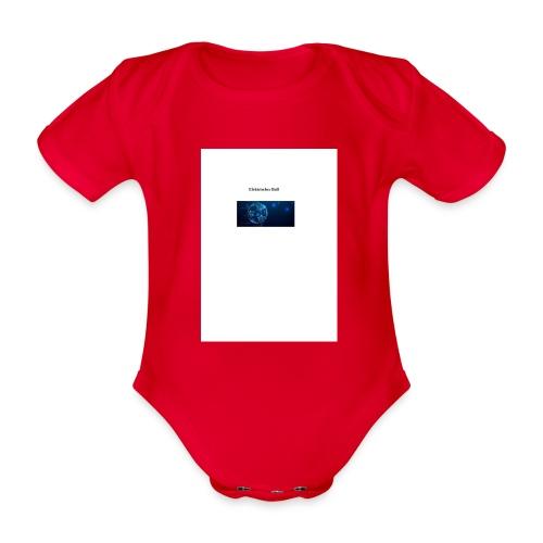 Elektrischer Ball - Baby Bio-Kurzarm-Body