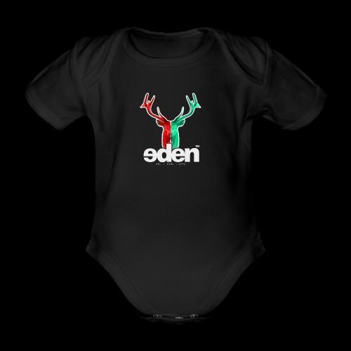 geweihbär EDEN - Baby Bio-Kurzarm-Body