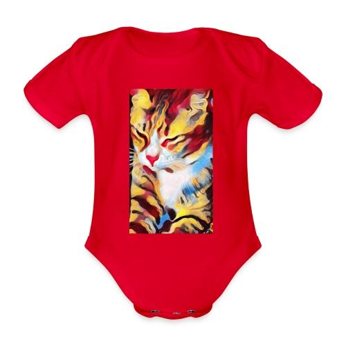 Streetcat Honey - Baby Bio-Kurzarm-Body