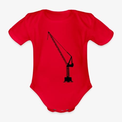 kraan - Baby bio-rompertje met korte mouwen