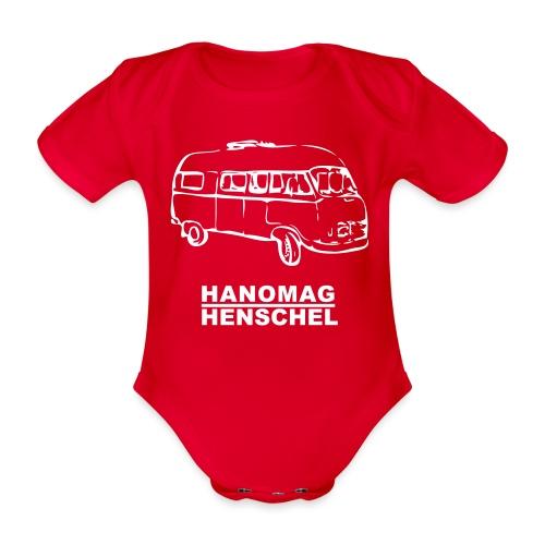 Hanomag Hansel - Baby bio-rompertje met korte mouwen