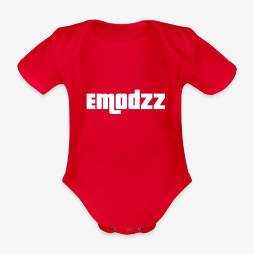 EMODZZ-NAME - Organic Short-sleeved Baby Bodysuit