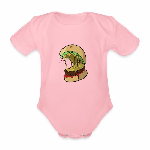 Frankenburger - Organic Short-sleeved Baby Bodysuit