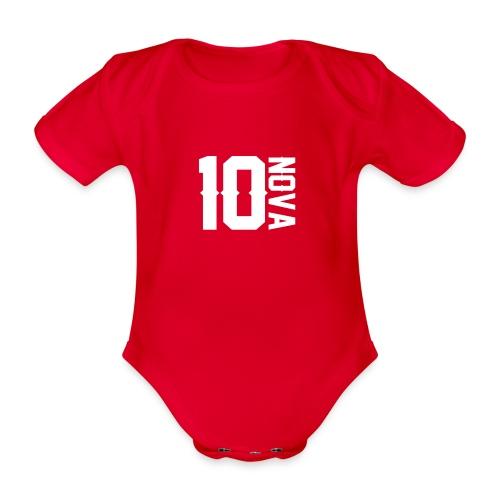 Nova 10 Jumper - Organic Short-sleeved Baby Bodysuit