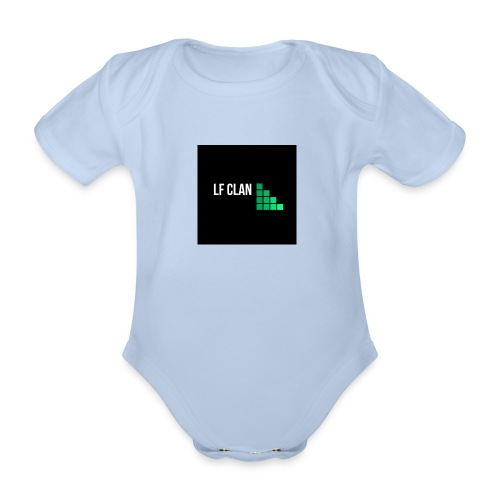 LF CLAN - Ekologisk kortärmad babybody