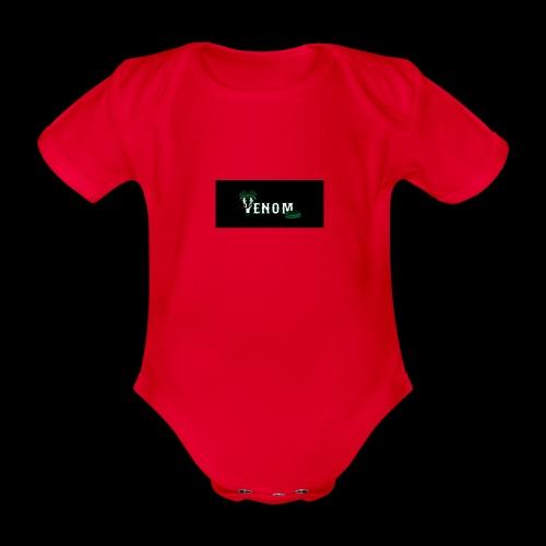 venomeverything - Organic Short-sleeved Baby Bodysuit