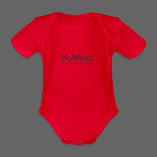 NoWings_Fam - Baby Bio-Kurzarm-Body