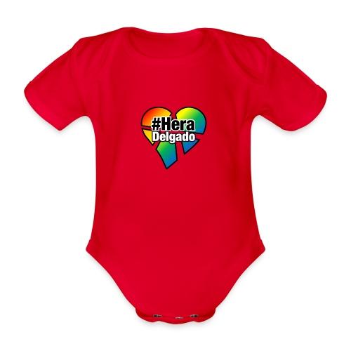 #HeraDelgado - Baby Bio-Kurzarm-Body