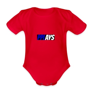 Merchandise_logo - Organic Short-sleeved Baby Bodysuit