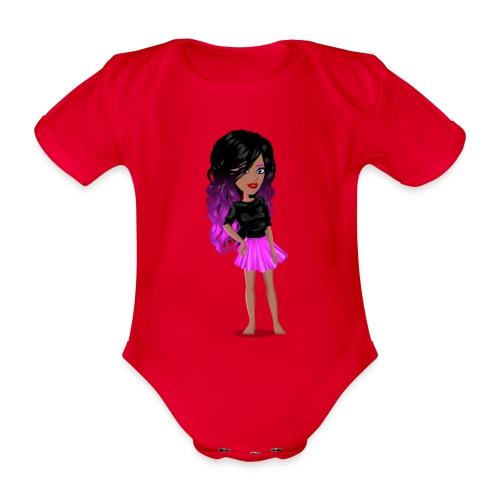 MSP_Min_kj - Økologisk kortermet baby-body