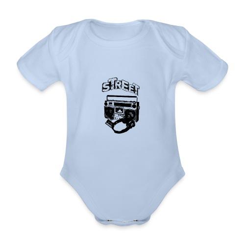 street 1 - Kortærmet babybody, økologisk bomuld