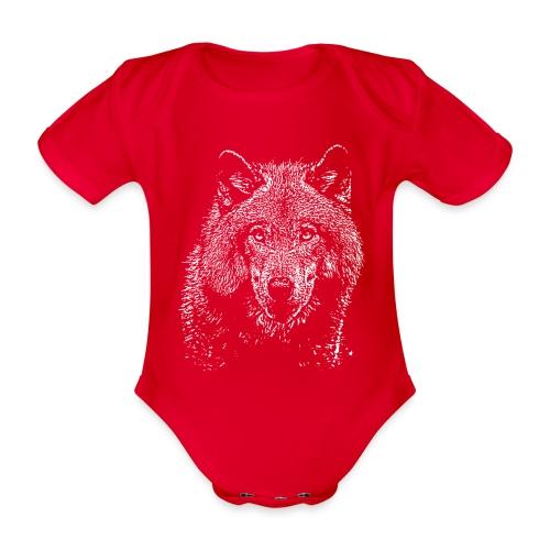 Wolf - Body Bébé bio manches courtes