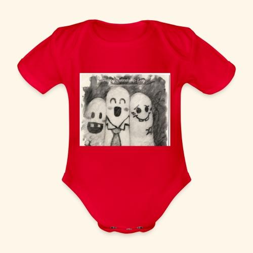 20190111 112024 - Baby bio-rompertje met korte mouwen