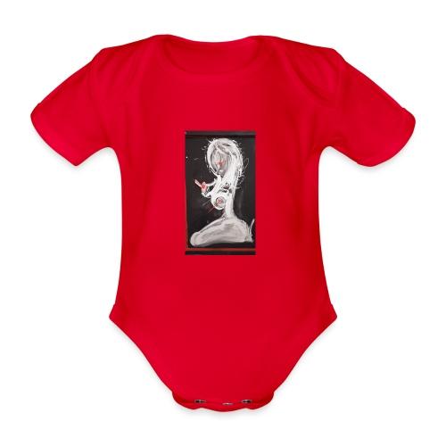WOMAN - Body ecologico per neonato a manica corta
