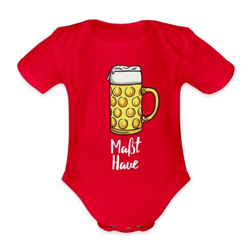 Maßt-Have - Baby Bio-Kurzarm-Body