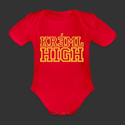 Kreml High - Ekologisk kortärmad babybody