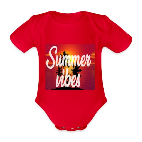 Summervibes - Baby Bio-Kurzarm-Body