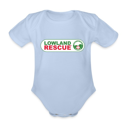 HANTSAR lozenge - Organic Short-sleeved Baby Bodysuit
