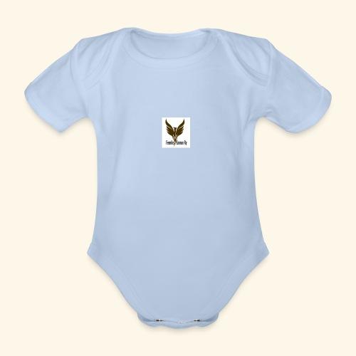 feeniks logo - Vauvan lyhythihainen luomu-body