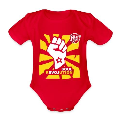 MLO Soul Revolution Medium - Baby Bio-Kurzarm-Body