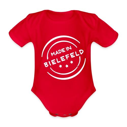 Made in Bielefeld - Baby Bio-Kurzarm-Body