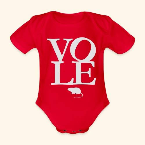 Vole - Baby Bio-Kurzarm-Body
