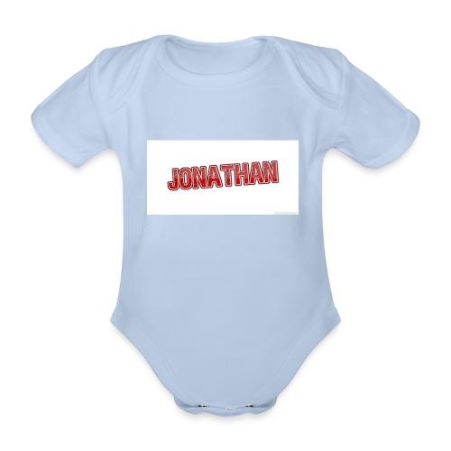 Jonathan - Ekologisk kortärmad babybody