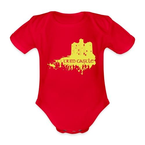Legend_-_Trim_Castle - Organic Short-sleeved Baby Bodysuit