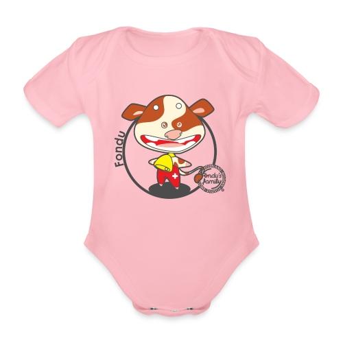 FF FADE 01 - Baby Bio-Kurzarm-Body